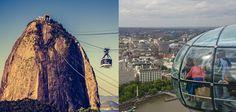 """Selecionamos os principais atrativos turísticos do Brasil e de Londres que já fazem parte da lista dos """"passeios acessíveis"""". Confira:"""