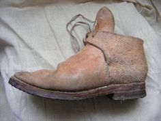 17th Century workers shoes