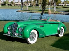 1947 Delahaye 135 MS Maintenance/restoration of old/vintage vehicles: the material for new cogs/casters/gears/pads could be cast polyamide which I (Cast polyamide) can produce. My contact: tatjana.alic@windowslive.com