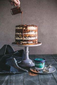 Tiramisu Crunch Cake #cake #milkbarcake #cakerecipe #layeredcake