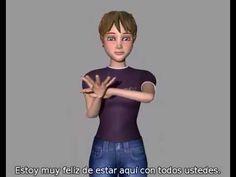 http://www.itclimasd.org/Realidad-Vir... http://www.textosign.es Ejemplo de traducción de textosign con nuestro personaje virtual Maya, vide...