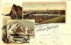 Nordland/Troms/Finnmark Fylker Hilsen fra Det Nordlige Norge brukt 1900 Utg W. Bögh, Trondheim