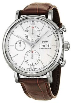 Elevenfy | New IWC Schaffhausen Portofino Automatic Chronograph Mens Watch IW391007