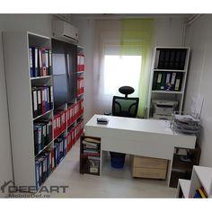 Mobilier birou - mobila birouri Corner Desk, Furniture, Home Decor, Homemade Home Decor, Corner Table, Home Furnishings, Interior Design, Home Interiors, Decoration Home