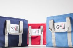 WeGrill Young's Bags, choose your color. Usefull also for the beach and not only to carry your WeGrill! www.wegrill.eu