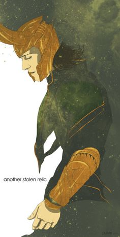 Loki ~ Yep, part of the ENVY Monster's issues.  I guess Odin forgot to tell Thor: Leave Loki at home when you go to do battle in Jötunheimr