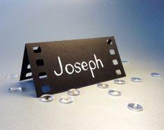50 Place Cards Cinema Film Movie Themed Holliwood by Naboko Deco Cinema, Cinema Party, Cinema Film, Film Movie, Theme Cinema, Hollywood Party, Hollywood Night, Movie Themes, Party Themes