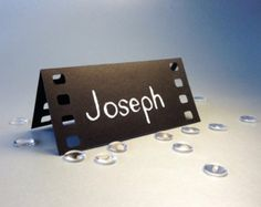 50 cartons, Film de cinéma, film sur le thème, Holliwood, calligraphie originale, découpe, Scrapbook, Papercut par Mama Tita