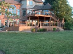 Two-Level Deck | the deck store decks patios outdoor enclosures