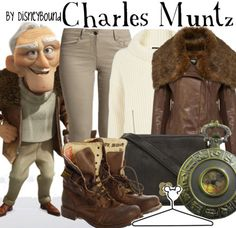 Charles Muntz Get the look! Disney Themed Outfits, Disney Bound Outfits, Disney Inspired Fashion, Disney Fashion, Nerd Fashion, Fandom Fashion, Character Inspired Outfits, Up Costumes, Fandom Outfits