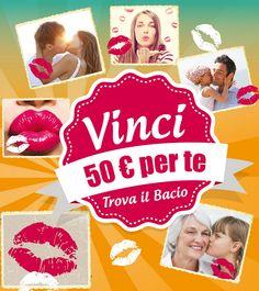Trova il bacio...vinci 50 euro con Tigotà - http://www.omaggiomania.com/concorsi-a-premi/trova-bacio-vinci-50-euro-tigota/