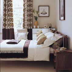 Dark brown modern bedroom