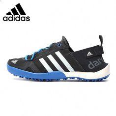 uk availability ecb5e b5930 Original Adidas Men s Hiking Shoes, Outdoor Sports Shoes, Blue, Grey  Athletic Shoe Type  Hiking ShoesFeature  BreathableGender  MenBrand Name   AdidasLining ...