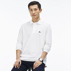 Men's Classic L.12.12 Long Sleeve Piqué Polo Shirt | LACOSTE