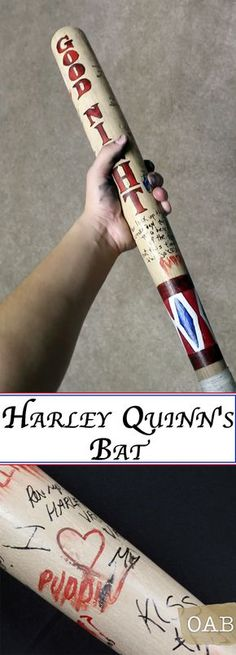 Harley Quinn is The Joker's funny, bubbly, ass-kicking girlfriend in Suicide Squad. Her weapons of choice are a baseball bat and a mallet with her unique touch. Learn how to make Harley Quinn's baseball bat from Suicide Squad on a budget.
