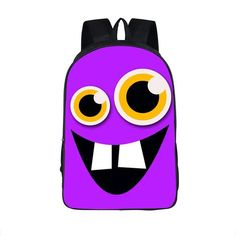 FVIP 16 Inch Anime backpack Funny Emoji School Bag For Teenager Cute Expression Shoulder Bags Women Men Daily Backpack Best Gift