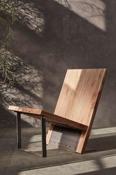 Mod Furniture, Rustic Furniture, Furniture Design, Outdoor Furniture, Lobby Furniture, Industrial Furniture, Cedar Planks, Deck Chairs, Adirondack Chairs