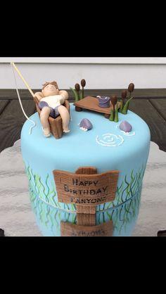 Fishing Cake (Birthday cake, boy, fondant)
