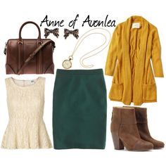 Anne of Avonlea Inspired Outfit by bramblewoodfashion, via Polyvore