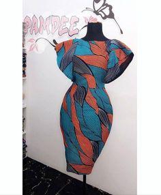 50 Ankara Asoebi Styles for Christmas – Ankara Lovers - African fashion African Fashion Ankara, Latest African Fashion Dresses, African Inspired Fashion, African Print Fashion, Africa Fashion, Short African Dresses, African Blouses, African Print Dresses, African Prints