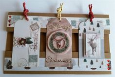 DOCRAFTS GOODY BAG PAPERMANIA CREATE CHRISTMAS CARD GIFT TAGS STAMPS  JULY  2015