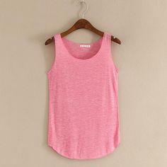 27281d54d1fb4 2016 summer Fitness Tank Top New T Shirt Plus Size Loose Model Women T-shirt
