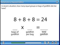 you tube repeated addition