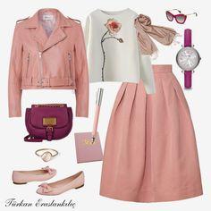 Türkan Eraslankılıç: You are more stylish this winter Modesty Fashion, Muslim Fashion, Hijab Fashion, Fashion Outfits, Womens Fashion, Mod Fashion, Modest Outfits, Classy Outfits, Skirt Outfits