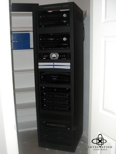 Another organized equipment rack that completes a clean install and offers simple servicing when needed.