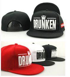 fashion DRUNKEN crown Baseball cap
