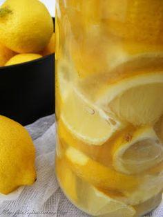 szeretetrehangoltan: Tartósított (fermentált) citrom Vinaigrette, Healthy Living, Curry, Food And Drink, Pudding, Meat, Desserts, Alcohol, Tailgate Desserts