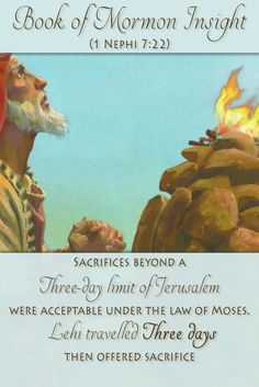 Recent discoveries and research into the practice of offering sacrifice outside the Jerusalem Temple are actually supporting Lehi's actions. Learn more at http://www.knowhy.bookofmormoncentral.org/content/how-could-lehi-offer-sacrifices-outside-jerusalem  #knowhy #lds #bookofmormon #mormon #lehi  #sacrifice #jerusalem #deadseascrolls