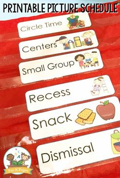 Want to have smoother transitions in your preschool or kindergarten classroom? Here are my best transition tips for teachers! #preschool