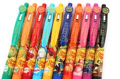 Zebra Limited Edition Sarasa Clip Chupa Chups Scented Gel Ink Pen - 0.5 mm - 10 Color Set - ZEBRA JJ29-CC-10C