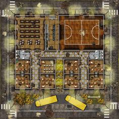 Image result for distant outpost battle map mining colony
