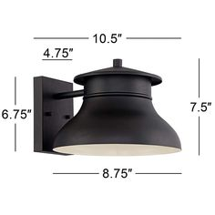 Danbury 7 High Black Dark Sky LED Outdoor Wall Light more views Outdoor Barn Lighting, Led Outdoor Wall Lights, Outdoor Walls, Dark Skies, Black Dark, Modern Industrial, Glass Design, Lighting Design, Lamps
