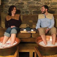Portland: Soakology | Foot Sanctuary Spa... Oh sweet soles we are coming just for you!