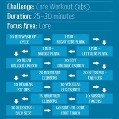 Workouts :)