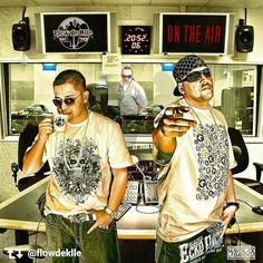 """Via Instagram LAEMINENCIAreal Repost via @flowdeklle with #LQMapp - - - > #tbt #throwbackthursday #2009 uno de los artes de nuestro disco """"on the air"""" música tan adelantada que aun sigue vigente www.laqadramusic.com @laeminenciareal @estilomendez @laqadramusic @mystarimage #musica #urbana #instaretro #flowdeklle #flow #music #album #record #venezuela #laeminenciaretro #tw #laeminencia"""