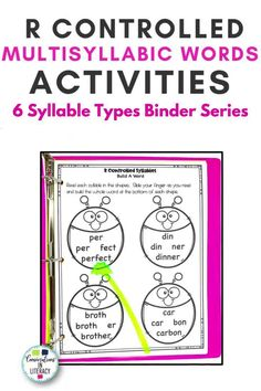 No Prep-Print & Go! Decoding R Controlled Vowel Syllable Multisyllabic Words doesn't have to be tricky anymore! Strategic activities teachers can differentiate for the needs of students. Perfect for quick word work during guided reading, reading interventions & for literacy centers! #phonics #fluency #decoding #literacycenters #guidedreading #elementary #classroom #readinginterventions #RTI #wordwork #backtoschool 4th grade, 2nd grade, 3rd grade