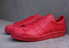 "Adidas Originals ""Superstar 80's LTHR"""