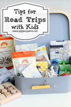 Some great road trip ideas from @Giggles Galore as summer vacation road trips in a car with kids can get crazy sometimes.