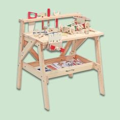 Photo: MelissaandDoug.com | thisoldhouse.com | from Easy DIY Woodworking Kits for Kids' Toys
