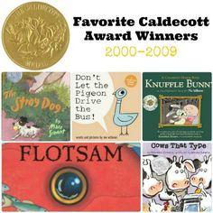 Favorite Caldecott Award Winners 2000-2009 | The Jenny Evolution