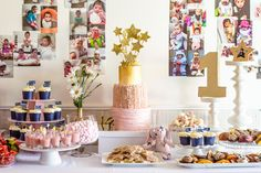 Twinkle, Twinkle Little Lily /-/Ultimate Tiered Star Themed 1st ...