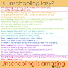 This post tackles sometrue facts about unschooling. First, we'll compare unschooling from traditional schooling and find out which one is better. Then, we'llfind out whether unschooling is lazy or amazing. Many thanks to Weed em and Reapand Winging Itfor the diagrams used in this post. If you would like to read the eye-opening articles that …