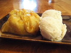 """Recently Joe and I got together with some of his family from Michigan and I ended up with a bushel of Michigan apples. They are delicious apples for eating or to cook with. No, not """"Del… Apple Recipes With Puff Pastry, Apple Dumplings, Thing 1, Apple Desserts, Desert Recipes, Cooking Recipes, Yummy Food, Favorite Recipes, Apples"""
