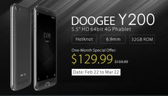 Doogee Y200, Special Offer from Everbuying  @  $129.99