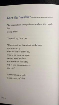 I absolutely love this poem!! By Naomi Shihab Nye.