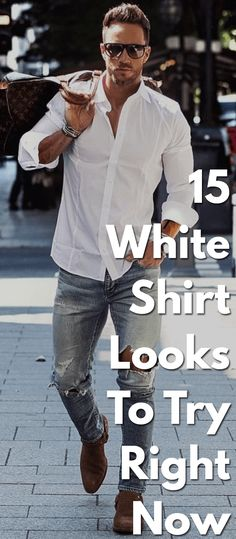 15 White Shirt Looks To Try Right Now